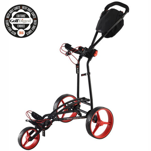 BIG MAX Autofold FF, black-red, Golf Digest Award