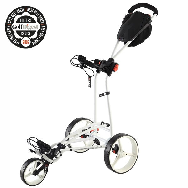 BIG MAX Autofold FF, white, Golf Digest Award