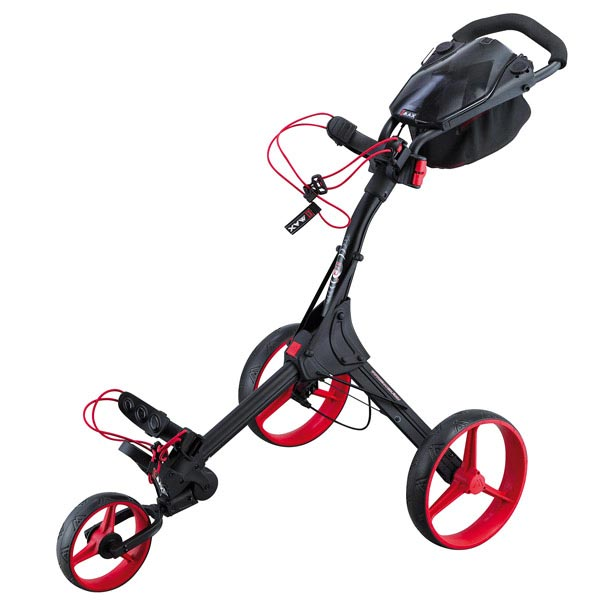BIG MAX IQ+ Push Trolley, black-red