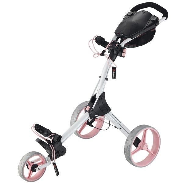 BIG MAX IQ+ Push Trolley, white-pink