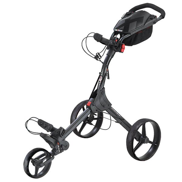 BIG MAX IQ+ Push Trolley, black