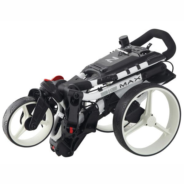 BIG MAX Z360 Push Trolley, folded