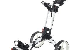 BIG MAX Z360 Push Trolley, white